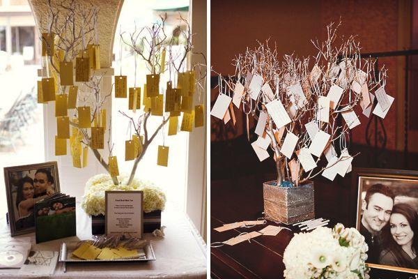 Ideas para los buenos deseos en las bodas: árbol #bodas #ElBlogdeMaríaJosé