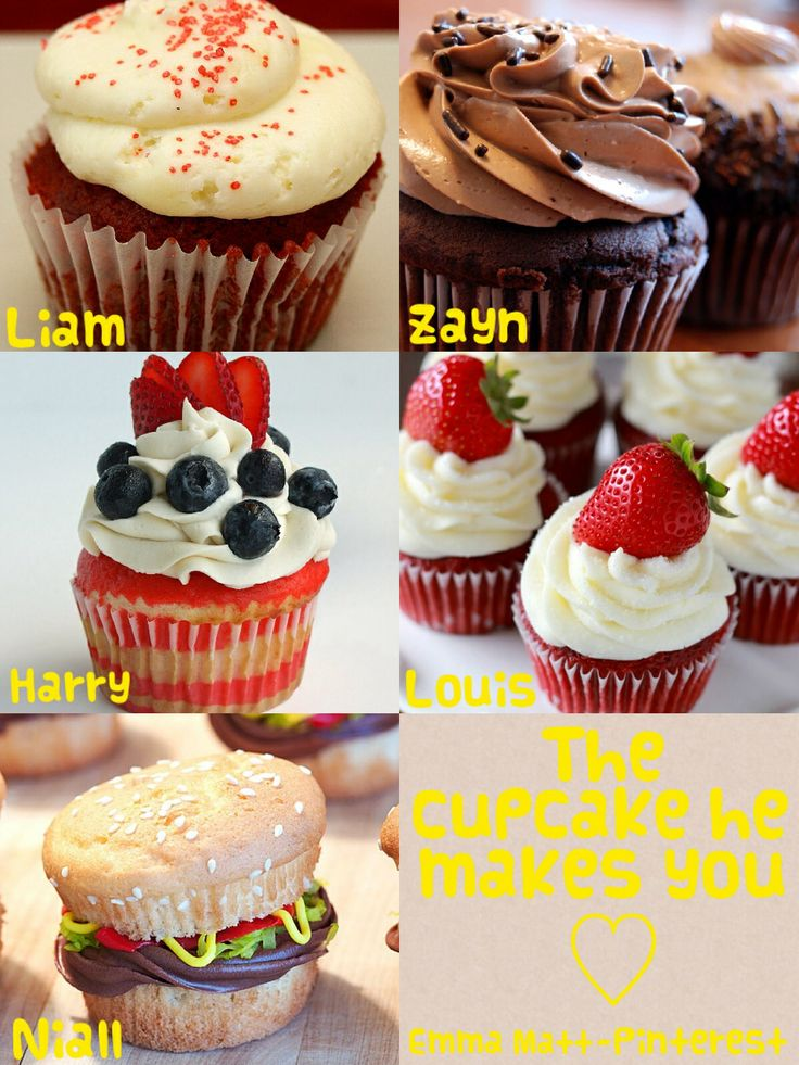 One direction preference- the cupcake he makes you!! I want them mall.lol #guiltypleasure