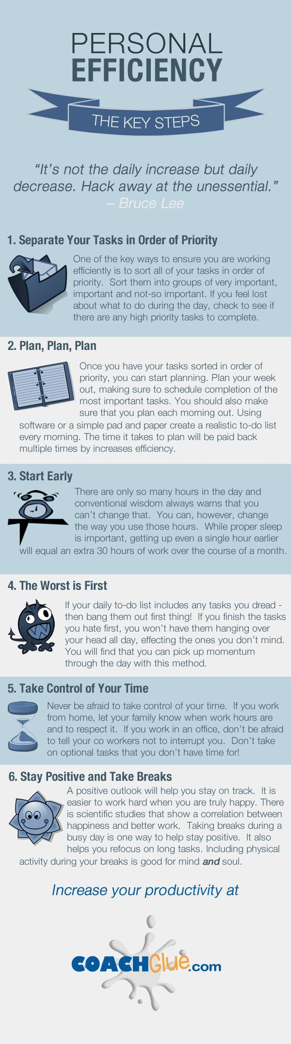 How to Be More Productive and Effective. Re-pinned by #Europass
