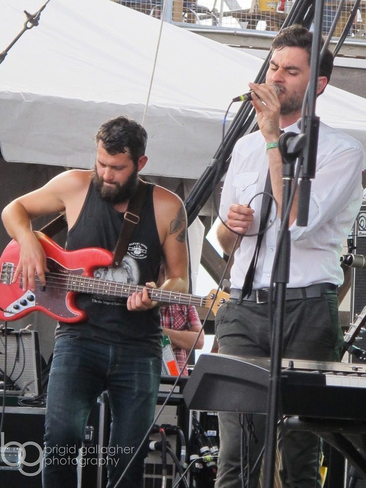 The Head and the Heart at Forecastle Festival 2012, loved them since Bonnaroo X '11 #MYFORECASTLE