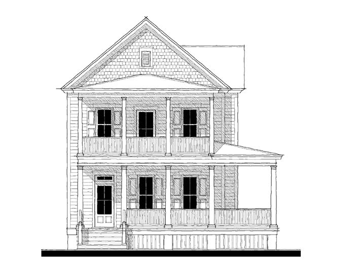 Allison ramsey architects floorplan for camden variation for Allison ramsey house plans