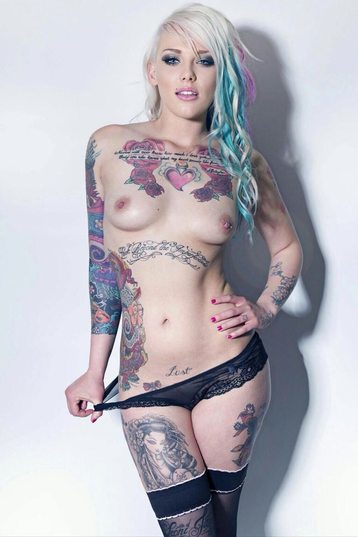 Sex inked and sexie girls nude