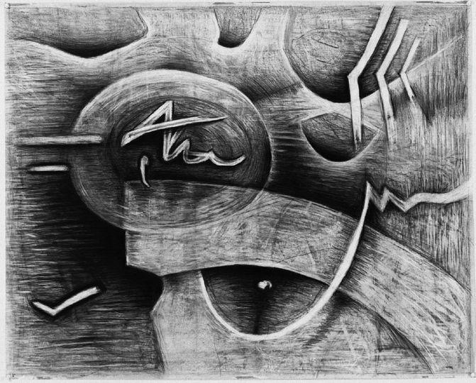 Eva Holmstedt       Bildsvit 5      Drawing