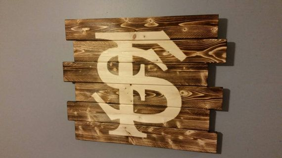 gothic accessories Florida State Seminoles wall art by CarolinaPalletDesign on Etsy