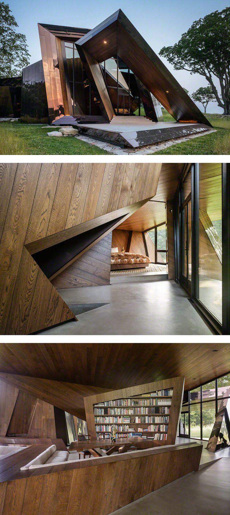 Daniel Libeskind 18.36.54 House: a Sculptural Architecture Masterpiece