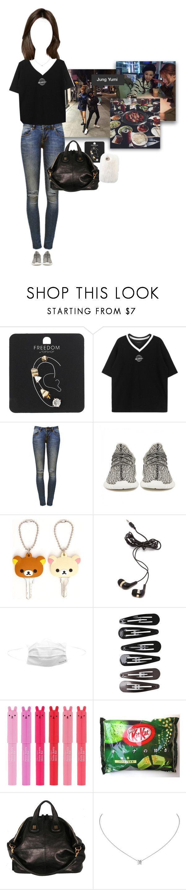 """hanui : going out to eat with Yumi-unnie (2014)"" by rjkpcy ❤ liked on Polyvore featuring Topshop, Anine Bing, adidas Originals, Forever 21, Clips, TONYMOLY and hanui"