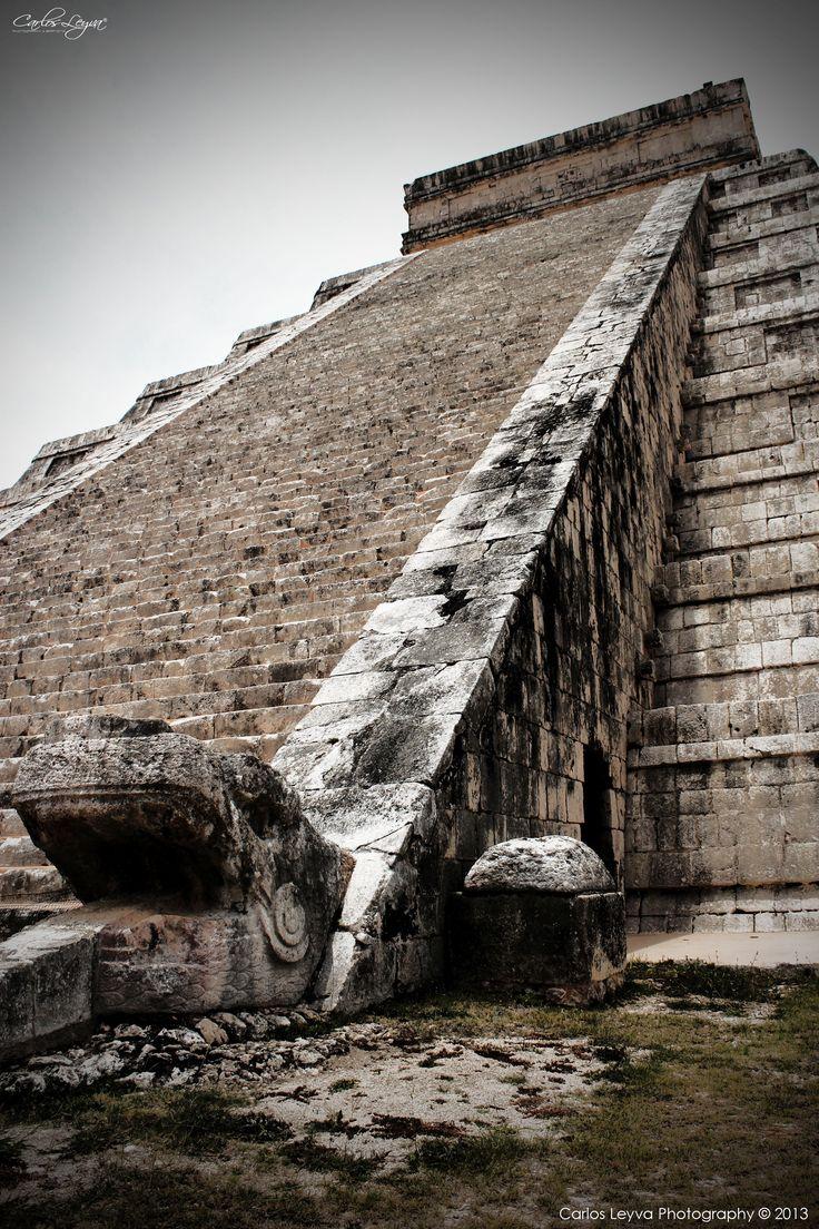 1698 best images about Chichen Itza Pyramid El Castillo ...