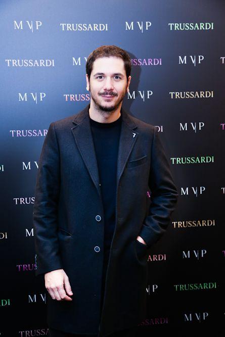 Gabriele Mainetti at the #MVPforTrussardi event in Rome. #MVPCreations #Trussardi