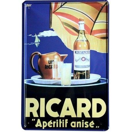 ricard pub #deco plaque metal