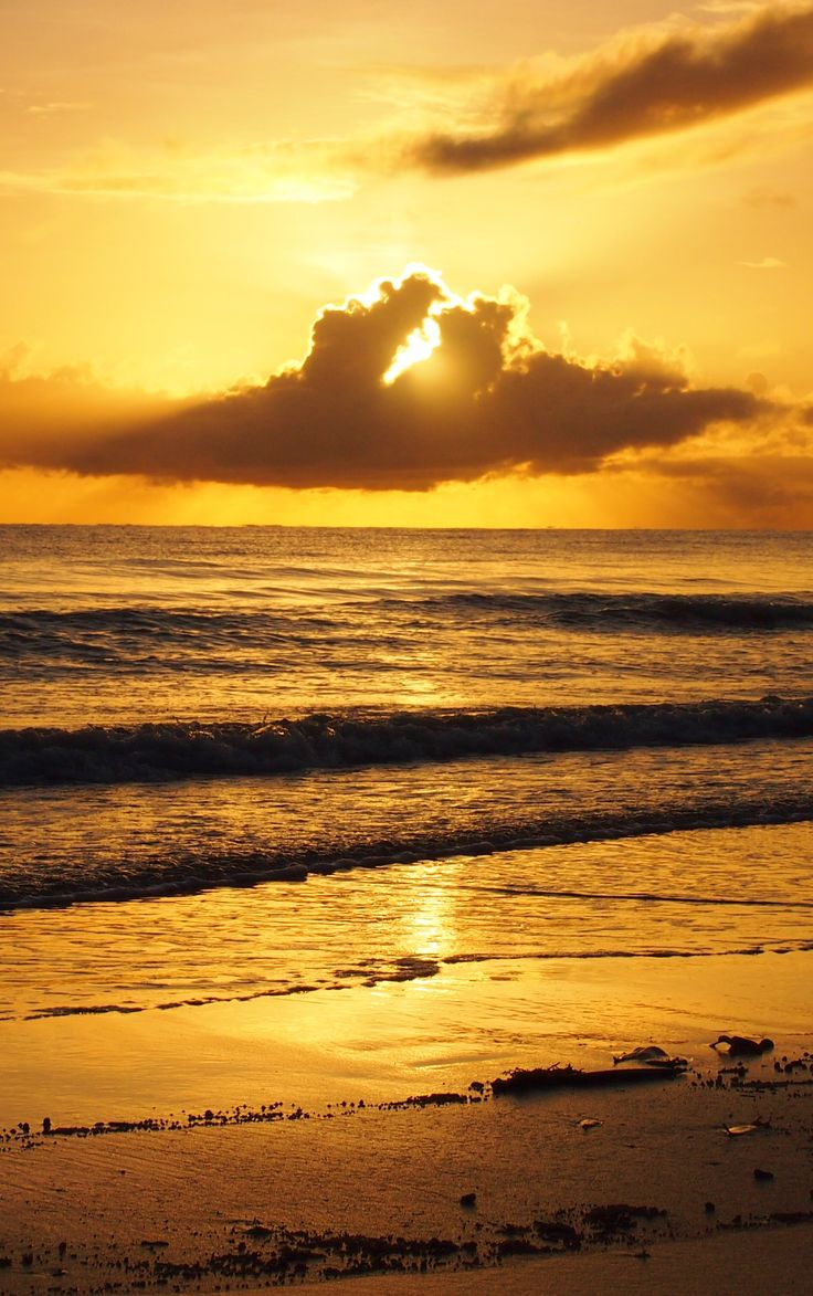 Sunrise, Port Douglas, Australia, Four Mile Beach. Queensland.