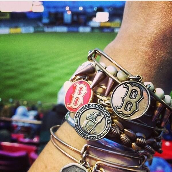 Red Sox #charmedarms!