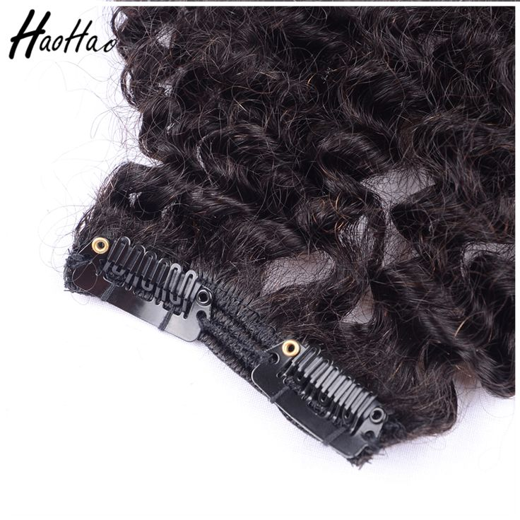 Highly Feedback brazilian Curly Crochet Hair Extension, Grade 9A Curly Hair Extension For Black Women
