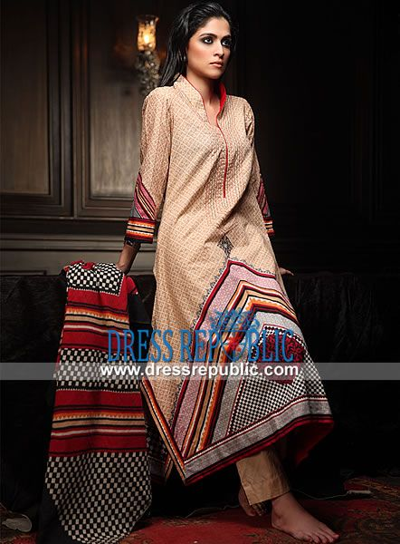 Pakistani Winter Outfits Online, Winter Designer Clothing From Pakistan 2013-2014 pakistani winter outfits new york, kashmiri khaddar by orient vol 2, orient textile mills karachi, pakistani orient textiles collection 2013, winter clothing necessities, winter wear online shopping india Gorgeous print of this Khaddar long shirt will provide you with a winter party gusto and put the limelight on you. Collar neckline and three-quarter sleeves lends this shirt a desirable style perfect for…