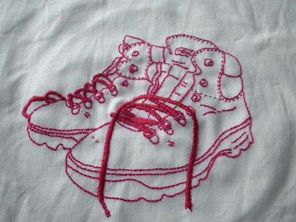 Embroidery patterns - how to make from real objects