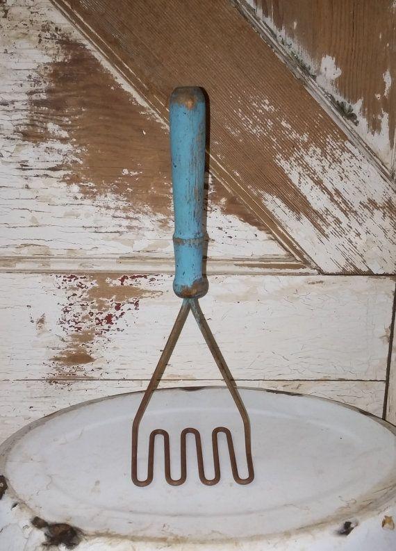 Vintage Potato Masher. Vintage housewares potato by LoveTheJunk