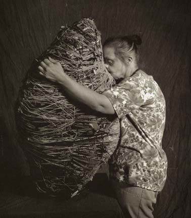 judith scott Genius textile artist with Down Syndrome❤️❤️❤️❤️