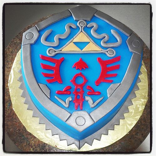 Zelda Shield Cake The Cakes I Have Made Kelly S Cakes