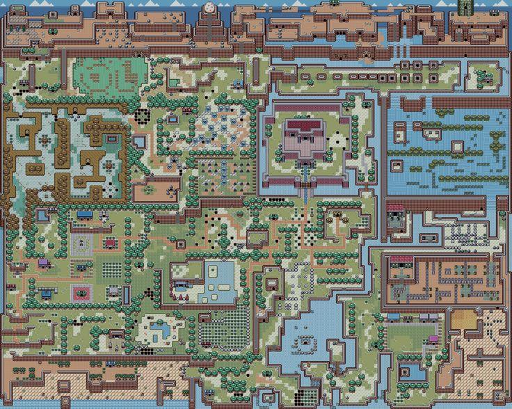 Links Awakening Map.