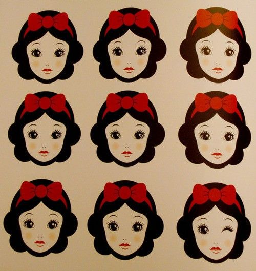 : White Neig, Vintage Disney, Artsyfartsi, Twinkie, The Artists, Disney Princesses, Artsy Fartsi, Prints, Snow White