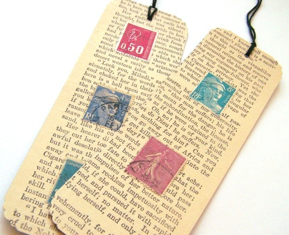 84 best bladwijzers images on pinterest marque page for How to tie a ribbon on a bookmark