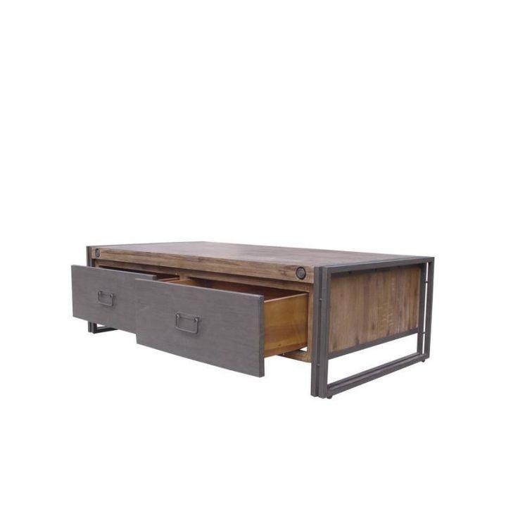 industriële salontafel