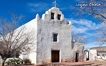 Laguna Pueblo - New Mexico Tourism - Travel & Vacation Guide Visited it when we traced the path taken by Bishop Lamy in Cather's _Death Comes to the Archbishop._ Wonderful inside.