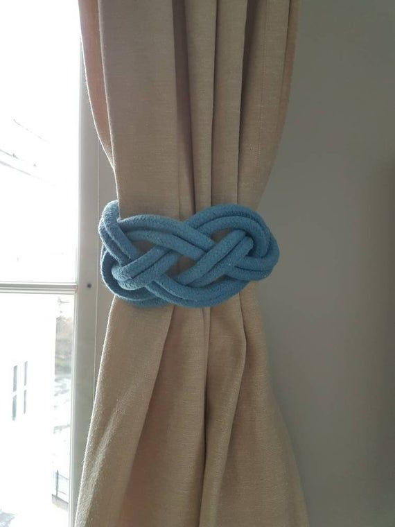 double carrick bend noeud rideau tie