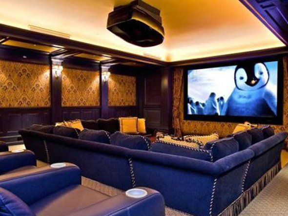 Hometheater Projector Home Theatre Surround Sound