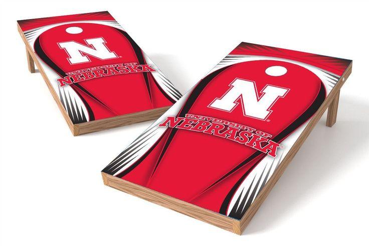 Nebraska Cornhuskers Cornhole Board Set - Drop