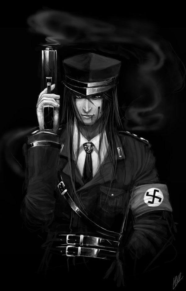 Nazi Hunter Soldier Anime NO SIR Anime Cartoon Draw Soldiers Girls Pinterest