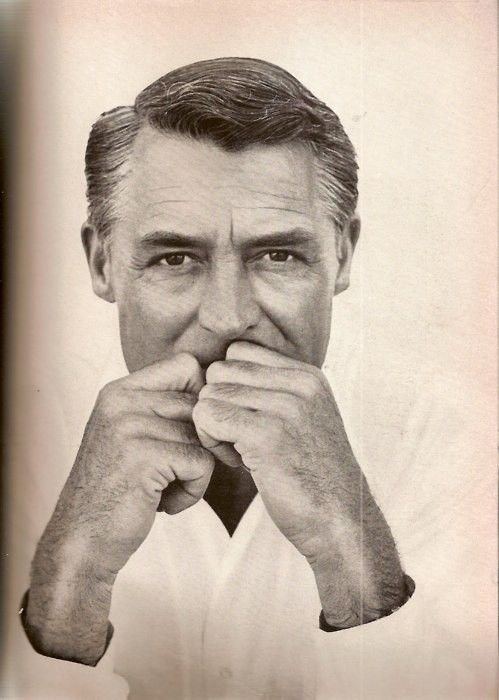 """Cary Grant -""""Do your job and demand your compensation - but in that order."""""""
