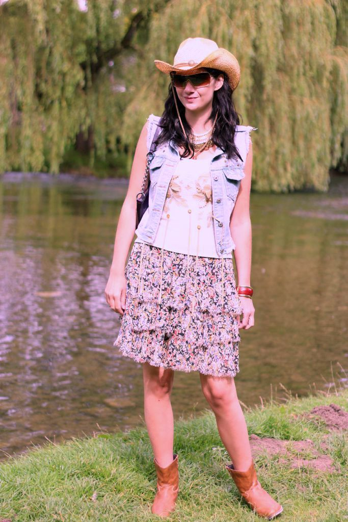 Topshop Rara Skirt
