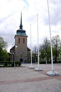 Mäntän kirkon rakennutti vuorineuvos Gösta Serlachius ja se valmistui vuonna 1928.