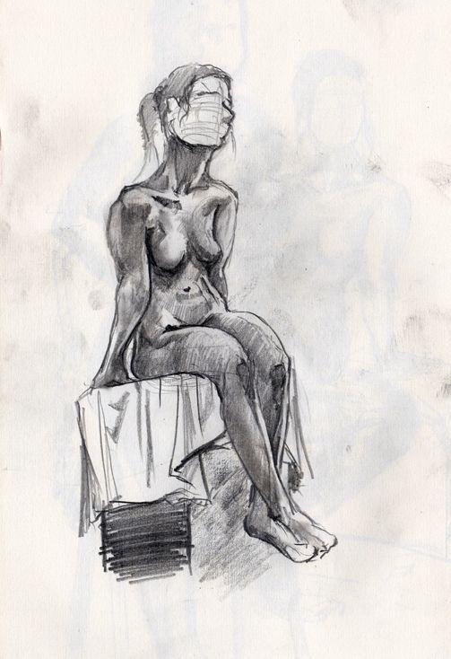 Life drawing 27/5/2015 by SchmidtFabian on DeviantArt
