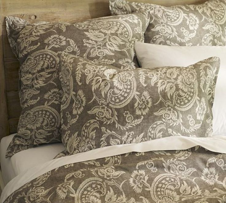 Bedding For Master Bedroom From Pottery Barn Alessandra Floral Reversible Duvet Cover And Shams