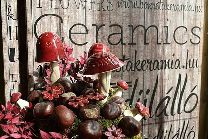 Bokrèta keràmia - hungarian handmade flowers , #bouquet , #homedecor , #flowers  www.facebook.com/bokretakeramia www.bokretakeramia.hu