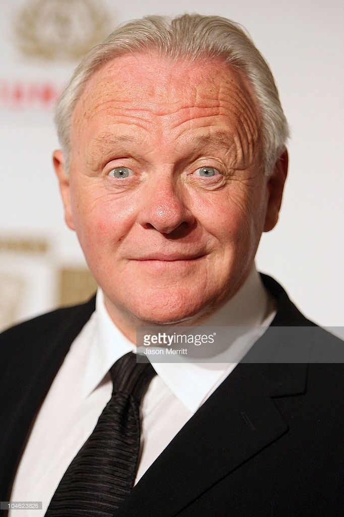 Anthony Hopkins during 2005 BAFTA/LA Cunard Britannia Awards - Arrivals at Beverly Hilton Hotel in Beverly Hills, California, United States.