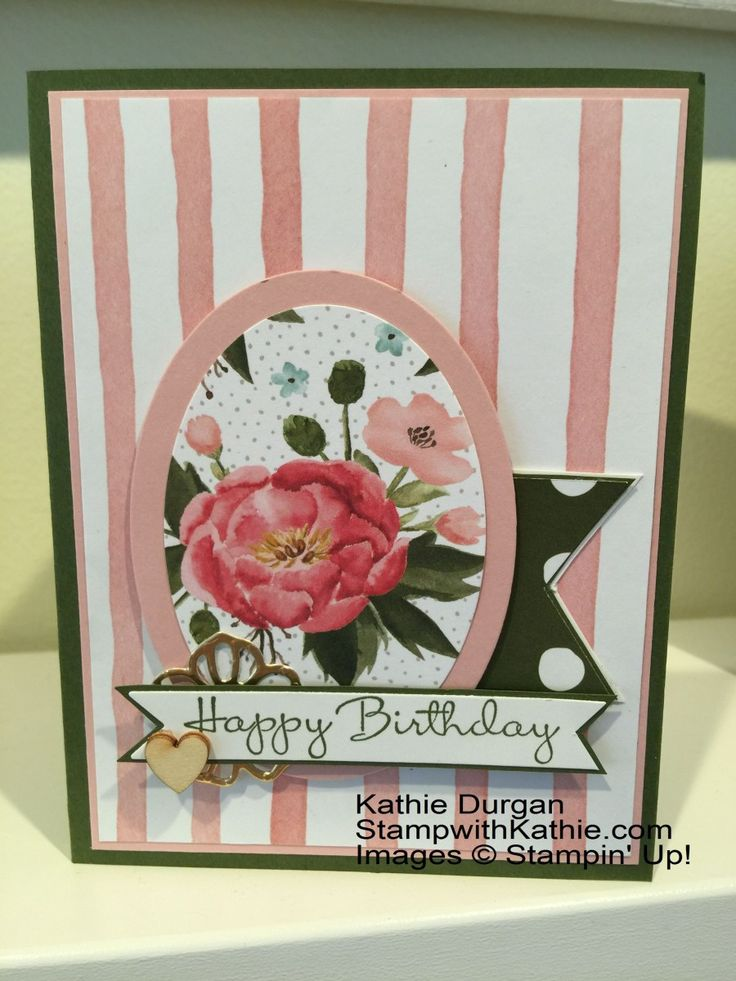 "I added ""Kathie Durgan"" to an #inlinkz linkup!https://stampwithkathie.wordpress.com/2015/12/15/stampin-up-birthday-bouquet/"