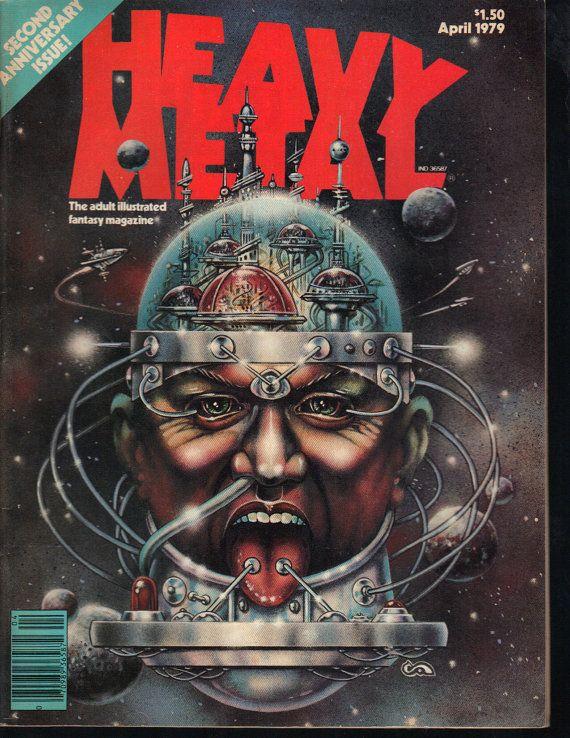 Heavy Metal Magazine April 1979 Richard by PsychoActiveStudio