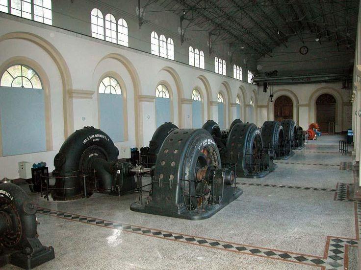 Interno della Centrale Idroelettrica di Malnisio