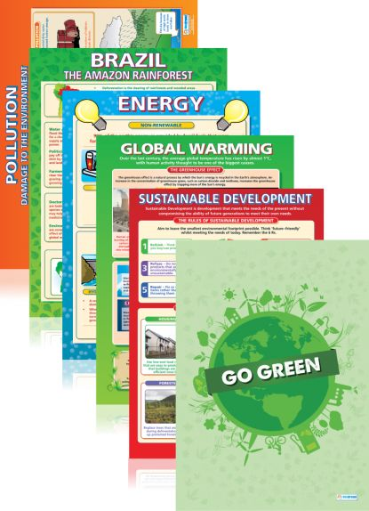 Eco Poster Pack + FREE Go Green Poster