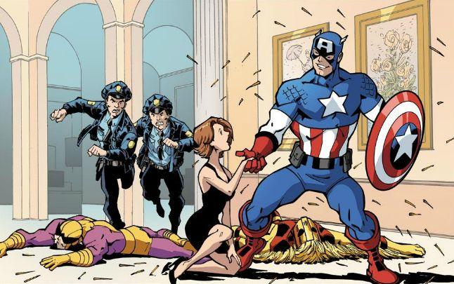 Captain America - MARVEL UNIVERSE AVENGERS - EARTH'S MIGHTIEST HEROES (2011) #5