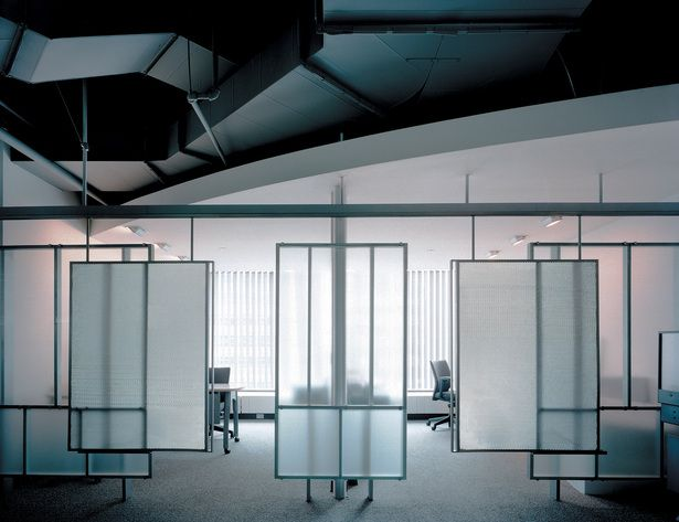 Detail, cubicles, Global Crossing | Lee H. Skolnick Architecture + Design…