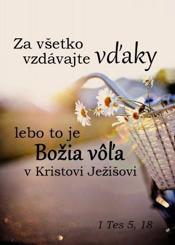 Citát - Citáty - Biblia - slovensky