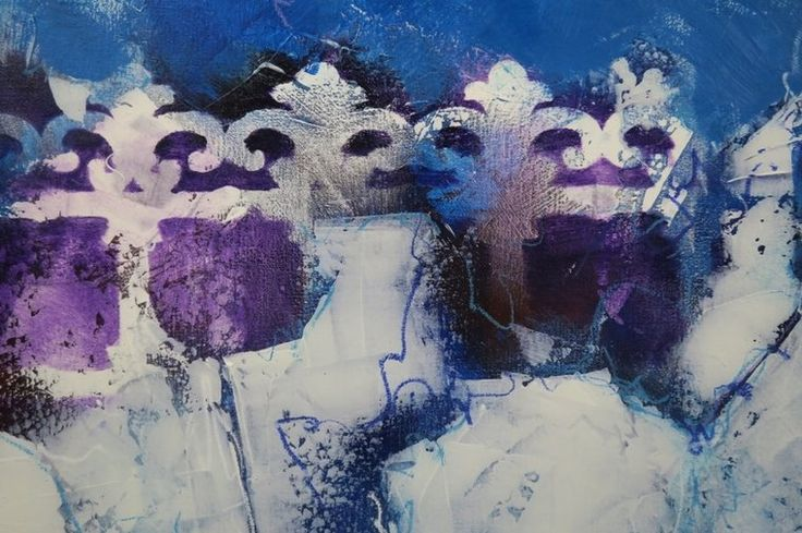 Carolina-Paulussen-Blauwe-rozen - Kunstuitleen en Galerie De Bleyenhoeve