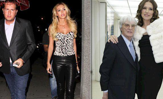 Milionový rozvod: Dcera šéfa F1 Ecclestonea odkopla svého násilnického manžela