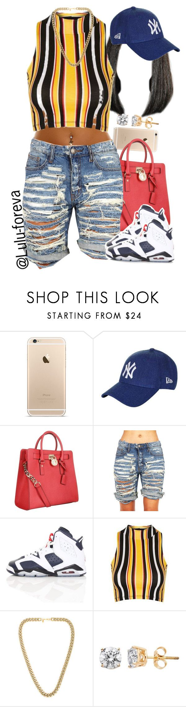 """""""Drop Snapchat Names Below !!"""" by lulu-foreva ❤ liked on Polyvore featuring Topshop, Michael Kors, NIKE and Kenneth Jay Lane"""