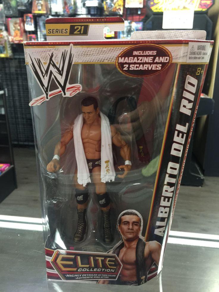 WWE Elite Collection Alberto Del Rio