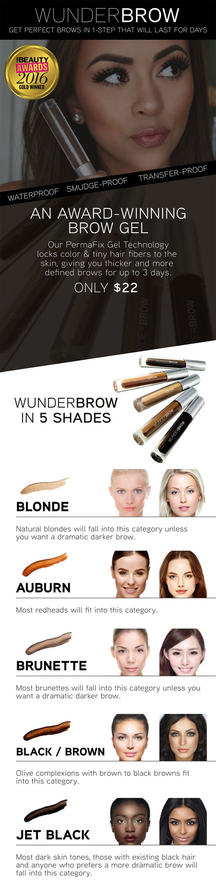 Hair stroke technique eyebrows new jersey - Wunderbrow Is A New One Step Solution Which Allows Women To Easily Fill Define And Shape Their Eyebrows With Natural Looking Color That Lasts For Days