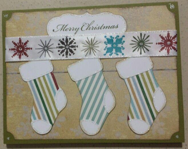 Stockings Christmas Card